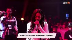 Tiwa savage full performance @ supremacy concert
