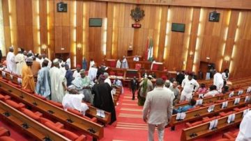 Nigerian-Senate-in-rowdy-session